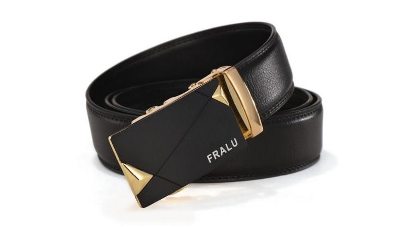 Распаковка и обзор кожаного ремня фирмы Fralu с Aliexpress