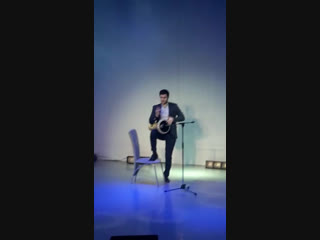 At the gala show - NIZHNEVARTOVSK