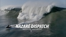 Nazaré Dispatch Marcelo Luna Wave Wipeout Drone Big Wave Nazaré