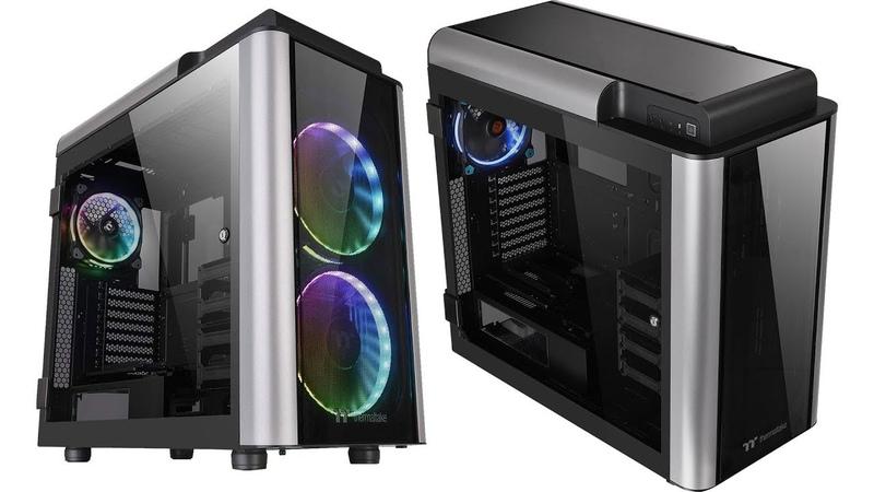 Корпус Thermaltake Level 20 GT: премиальное решение с распашными стеклянными стенками