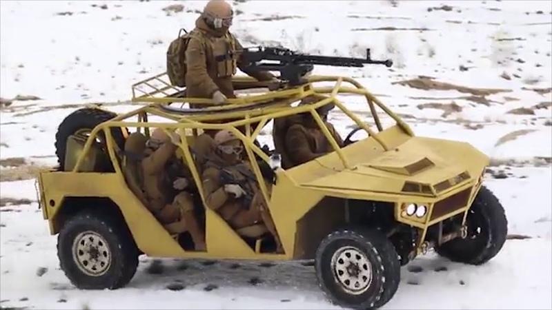 Пользователи Сети высмеяли новый автомобиль нацгвардии Украины