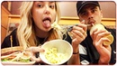 TRYING PANERA BREAD FOR THE FIRST TIME: Mukbang date ft. Tana