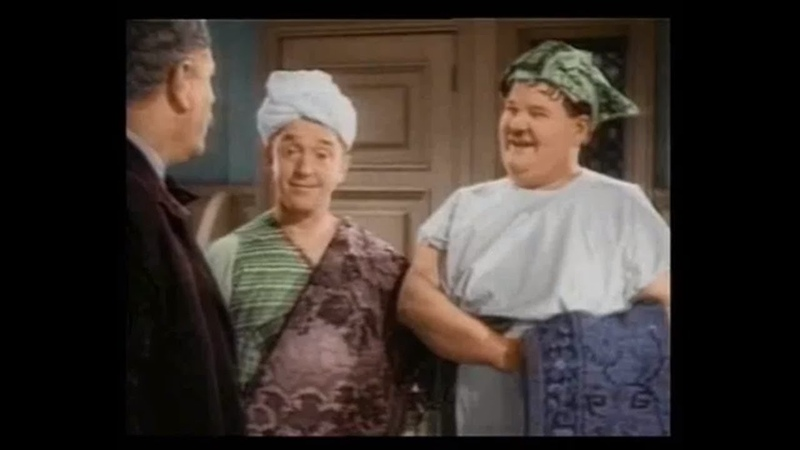 Our Relations 1936 Laurel and Hardy in Colour HD