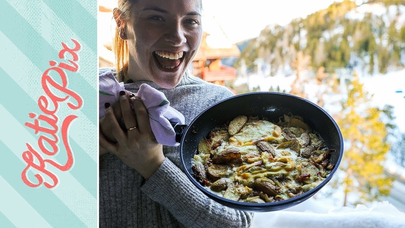 Naughty French Tartiflette with Alpine Reblochon Cheese Recipe   Katie Pix