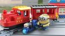 Мультик про поезд и железную дорогу отставший пассажир гонится за поездом