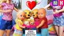 КАТЯ И МАКС ВЕСЕЛАЯ СЕМЕЙКА ЩЕНКИ РОДИЛИСЬ! Мультики с куклами Барби куклы мультики
