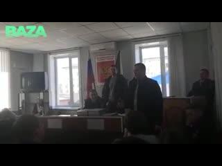 ФСБ устроило шоу с задержанием начальника ГИБДД