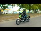 Вручение мотоцикла по акции КУПИ МОТОШИНЫ В КОЛЕСА ДАРОМ - ВЫИГРАЙ BMW G310!