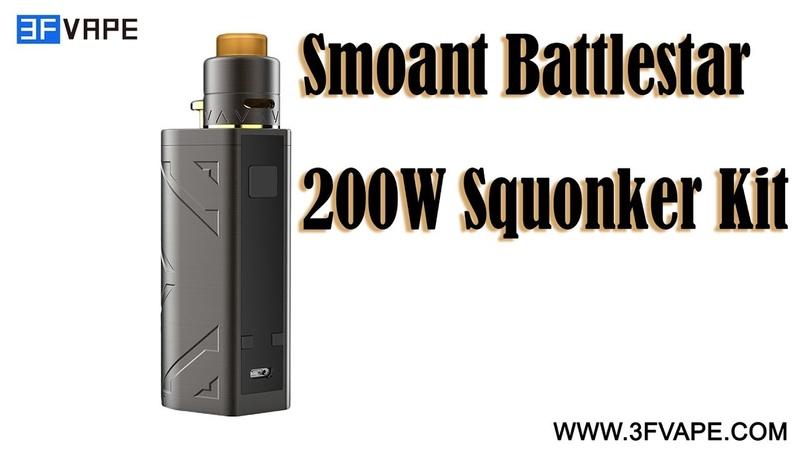 Smoant Battlestar 200W Squonker Kit