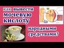 Как вывести мочевую кислоту из организма народными средствами