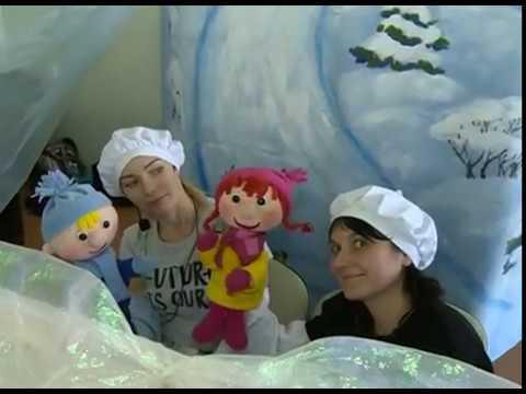 Театр кукол из Белгорода выступил в Губкине для детей-инвалидов