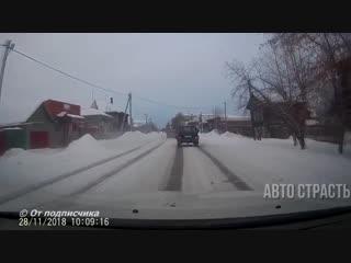 АвтоСтрасть - Новые Записи с Видеорегистратора за 28.11.2018 Video № 1063
