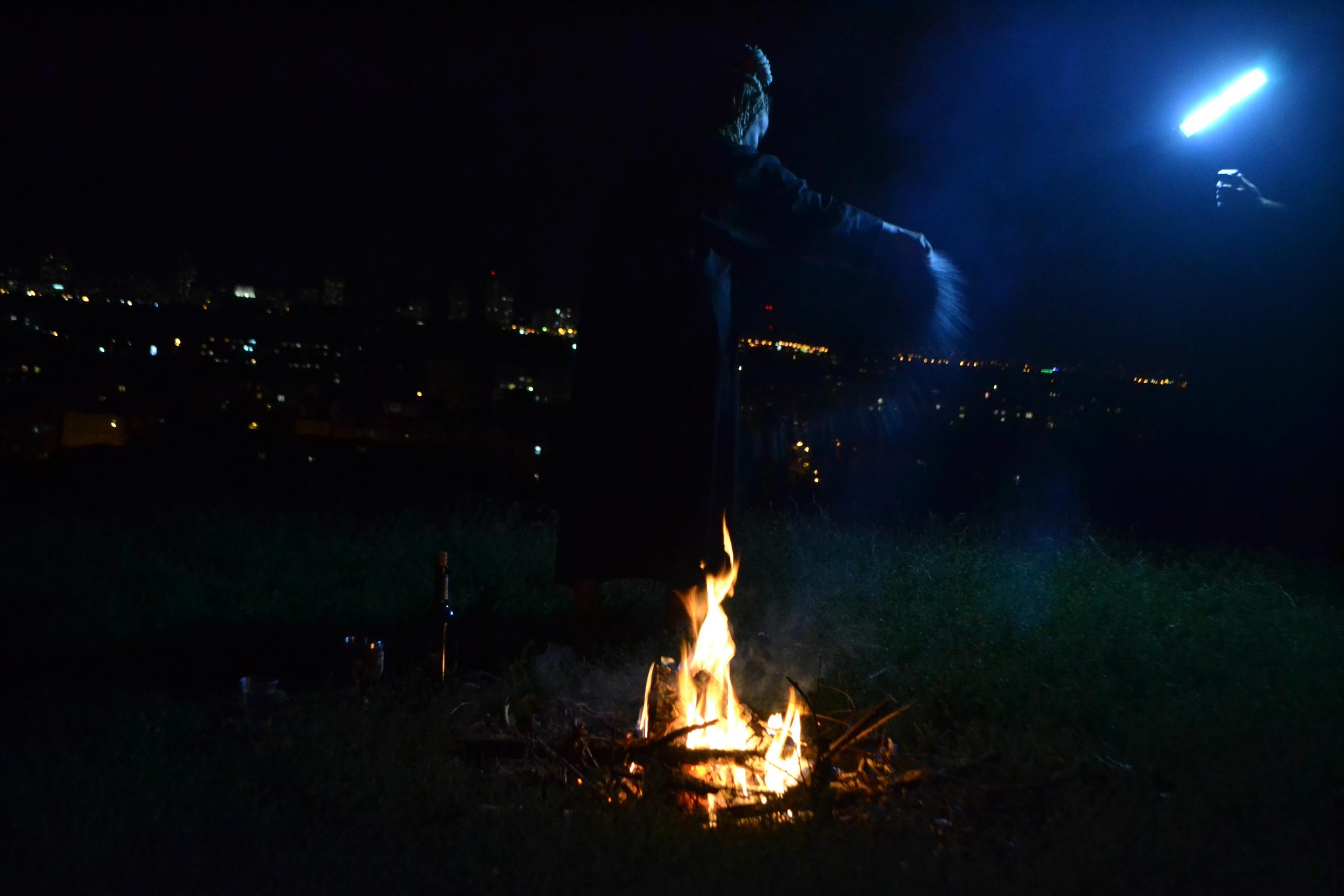 Елена Руденко (Валтея). Украина. Киев. Гора Щековица. Закрытый обряд. 2018 г . (ФОТО). BLMwqj28IxU