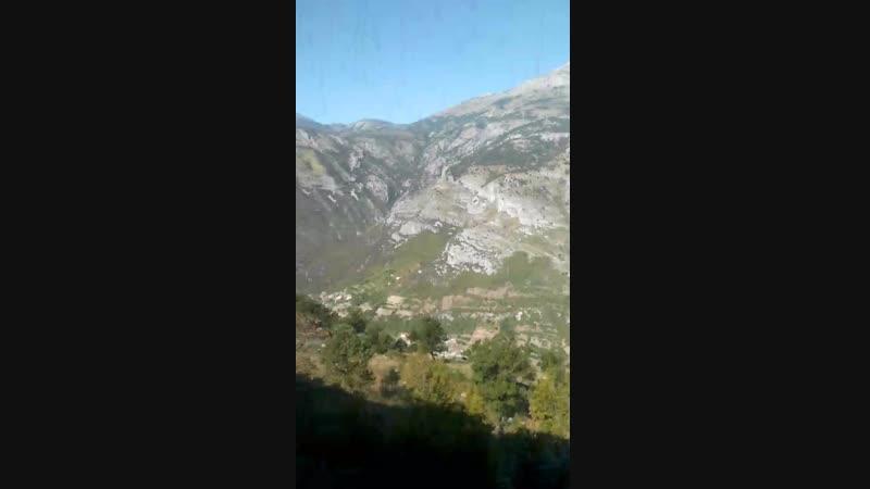 поезд Черногории сербия