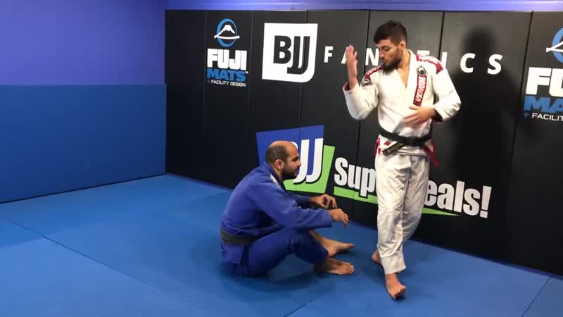 Renato Canuto - UNBELIEVABLE Back Flip Pass Going To The North South Choke