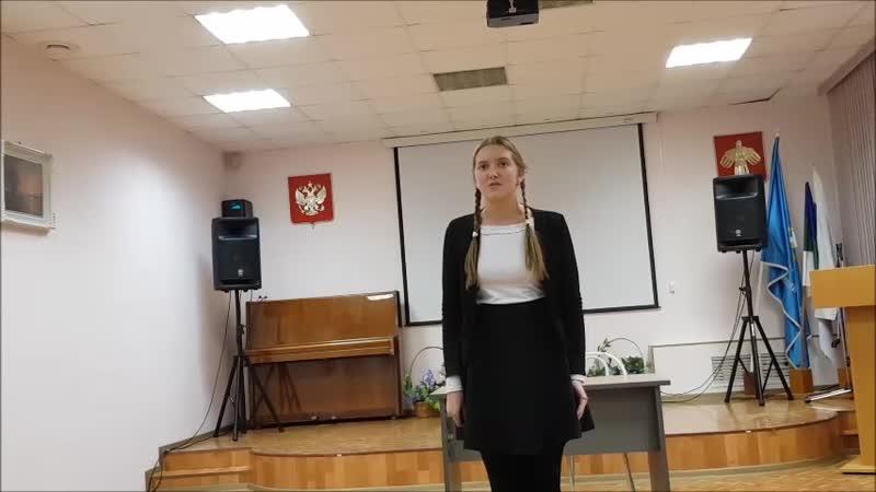 Чупахина Камилла - Стихотворение «Горбун» (автор Анна Санина-Царькова)
