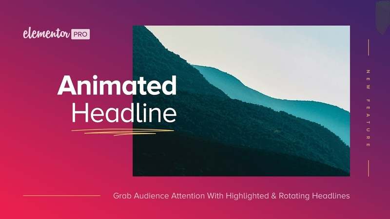 Animated Headline: The New Visual Way to Grab Your Visitor's Attention