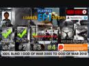 God of War Ghost of Sparta EP1 6 GodofWar games 25 days left 100 Blind
