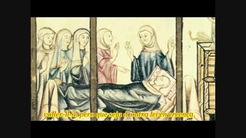 Cantiga 167 Quen quer que na Virgen fia