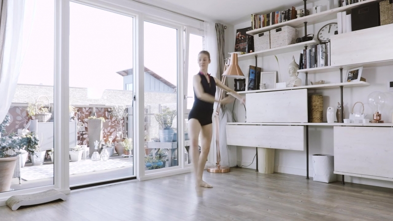 Ballet Centre - Improver Elementary 2 - With Intros - Exclusive Classical Ballet Classes - Lazy Dancer Studio