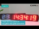 High brightness digital race timer led countdown clock, the Link is in the comments section