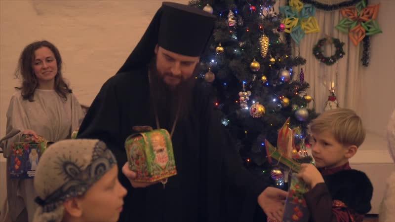 Рождественская ёлка в Высоко-Петровском монастыре 2019 г.