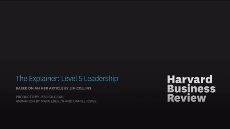 Лидерство 5 уровня по Джиму Коллинзу (HBR) (русские субтитры)
