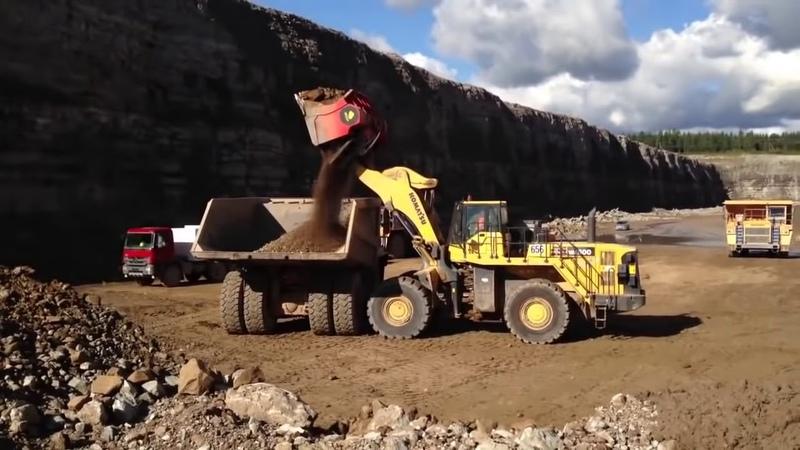 10 dòng xe tải nặng tự đổ lớn nhất