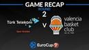 Highlights: Turk Telekom Ankara - Valencia Basket