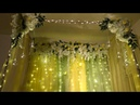 DIY- canopy wedding decor DIY- mayoun and Mehndi decor Part 2