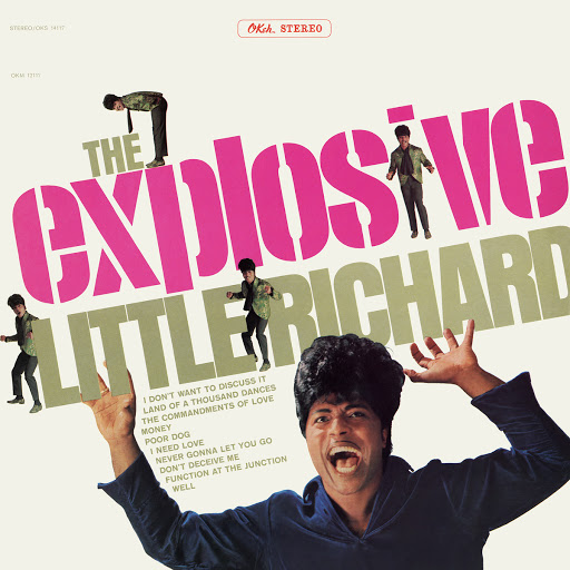 Little Richard альбом The Explosive Little Richard
