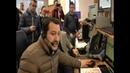 Questura di Milano visita auguri di Natale Ministro Salvini