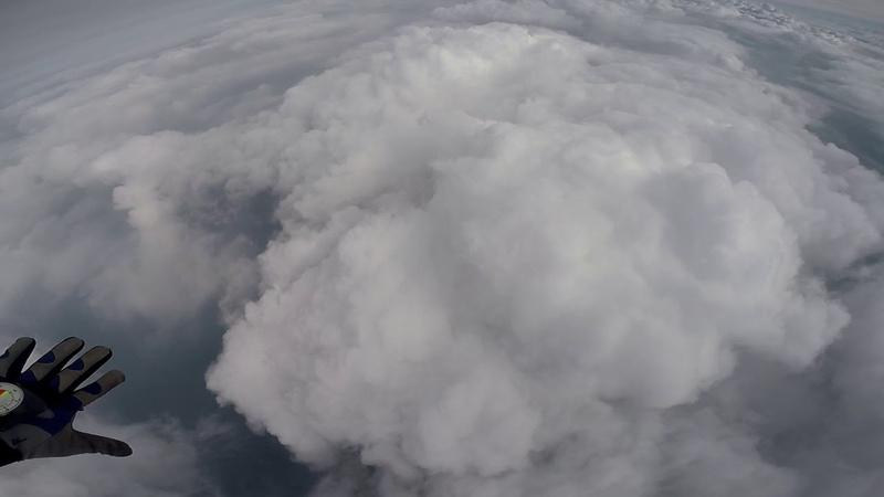 Прыжок с парашютом, 4000 метров, Мирный Саха Якутия, вертолёт ми-8