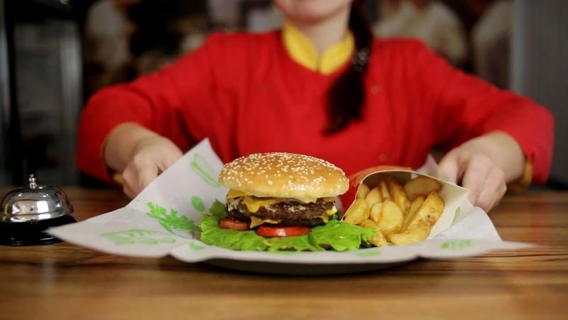 Кафе быстрого питания Burger Station / рекламный ролик