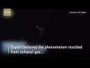 В Китае заметили светящийся объект, похожий на НЛО