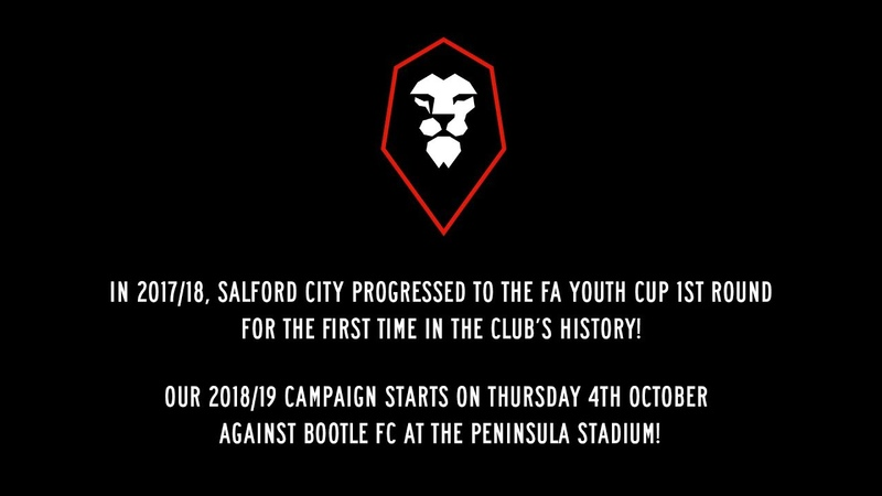2017/18 FA Youth Cup campaign | Salford City FC