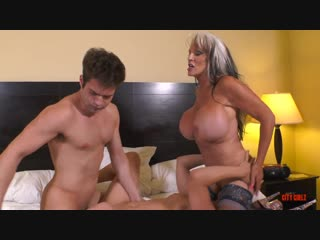 Sally d'angelo (auntie and the kinky cousins pt ll)[2018, big tits, incest, creampie, young, milf, taboo, threesome, 720p]