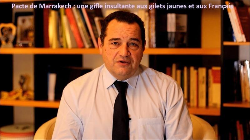 Pacte de Marrakech une gifle insultante aux gilets jaunes et aux Français 37