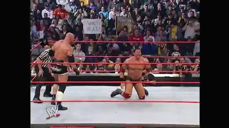 Goldberg - Gorilla Press Slam (on Batista)