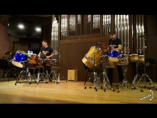 Ансамбль ударных инструментов «Percarus Duo». Живой концерт-презентация цикла «The Territory of the Rhythm» (2018-09-01)