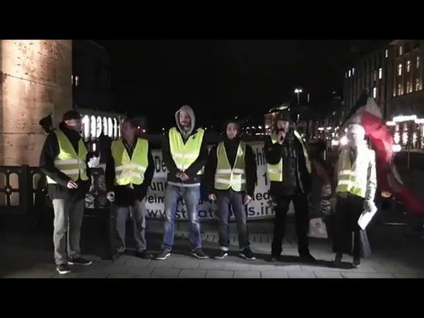 Appell der Gilets Jaunes Gelbwesten - Auf zum Reichstag Berlin! Für die Befreiung aus der Tyrannei!