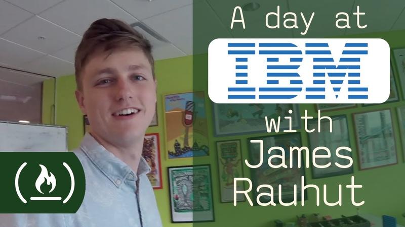 A day at IBM with designer James Rauhut