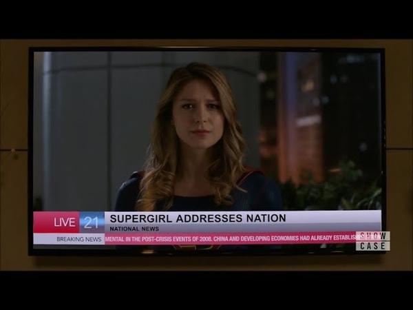 [4x02] Supergirl - Supergirl Addresses the Nation