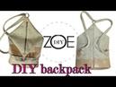 DIY backpack back to school zoe diy