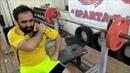 Тренировка № 13. Жим лёжа 90 кг на 5 раз ! А вам слабо повторить? (Ateks Motivator)