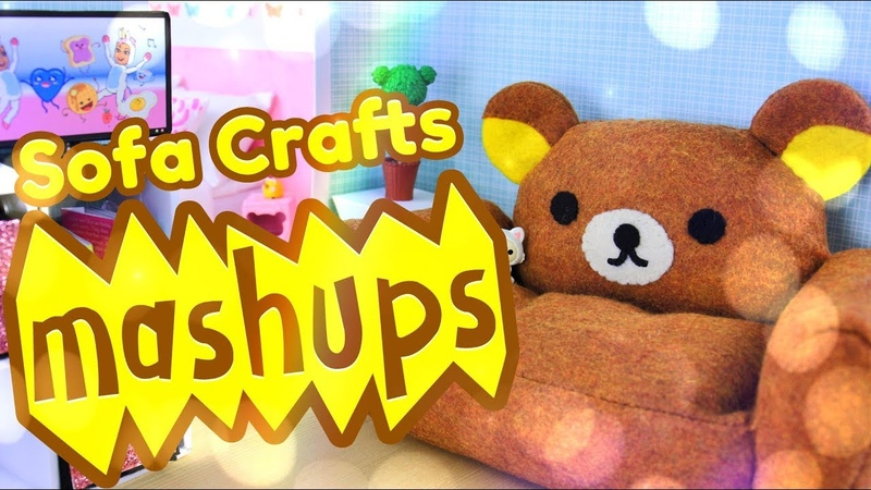 Mash Ups: Doll Sofas   Loveseats   Couches Chairs