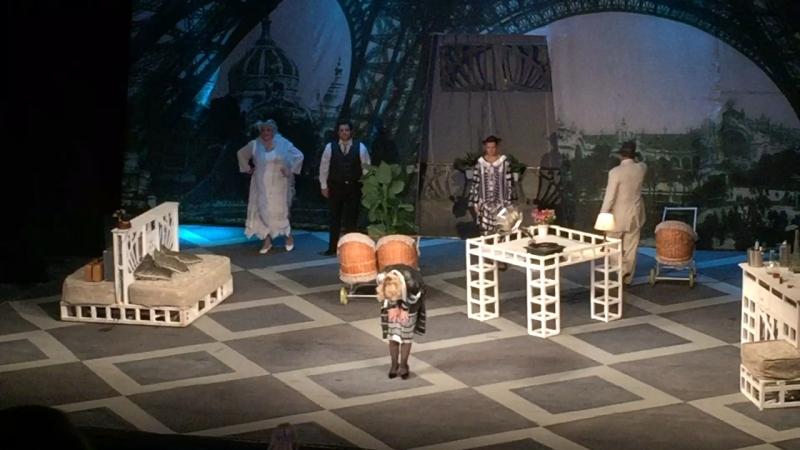 Театр на Таганке «Бестолочь»