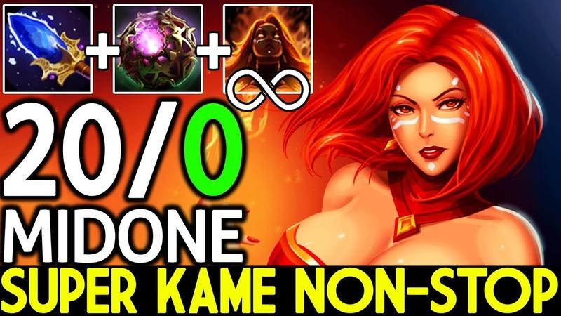 Midone [Lina] Super Kame Non-stop Brutal 200 Epic Game 7.19 Dota 2