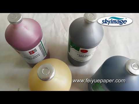 High Transfer Rate J-teck Eco Ink 4 Colors C,M,Y,HDK for High Speed Inkjet Printer