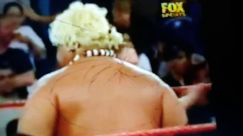 Stephanie Mcmahon gets stinkface from Rikishi That was so embarrassing and humiliated and funny